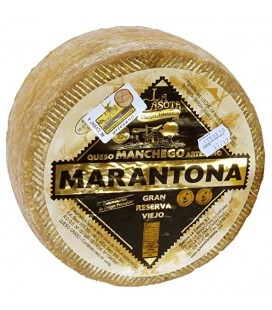 Marantona OldManchego cheese. 2.4 to 2.6Kg.