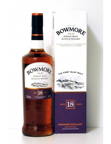 Bowmore Aged 18 Years Single Malt Scotch Whisky