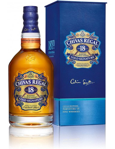Chival Regal 18 Gold Signature