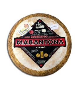 Marantona Cured Manchego cheese. 2.8 to 3kg.
