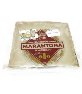 Marantona Manchego cheese Wedge,M / High C. 250g.